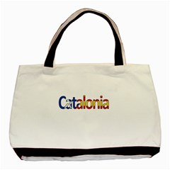 Catalonia Basic Tote Bag (two Sides) by Valentinaart