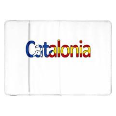 Catalonia Samsung Galaxy Tab 8 9  P7300 Flip Case by Valentinaart