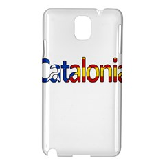 Catalonia Samsung Galaxy Note 3 N9005 Hardshell Case by Valentinaart
