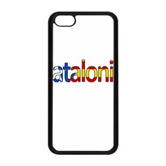 Catalonia Apple Iphone 5c Seamless Case (black) by Valentinaart