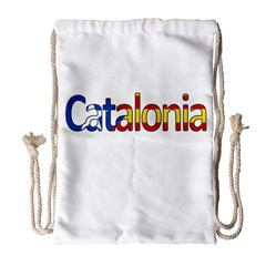 Catalonia Drawstring Bag (large) by Valentinaart