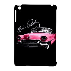 Elvis Presleys Pink Cadillac Apple Ipad Mini Hardshell Case (compatible With Smart Cover) by Valentinaart