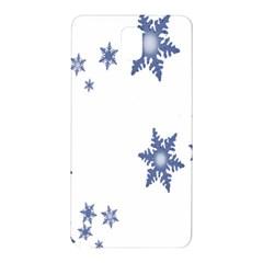 Star Snow Blue Rain Cool Samsung Galaxy Note 3 N9005 Hardshell Back Case by AnjaniArt