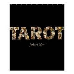 Tarot Fortune Teller Shower Curtain 60  X 72  (medium)  by Valentinaart