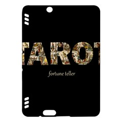 Tarot Fortune Teller Kindle Fire Hdx Hardshell Case by Valentinaart
