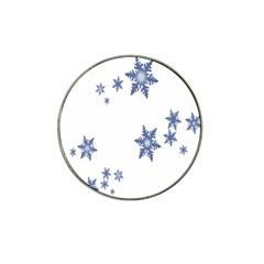 Star Snow Blue Rain Cool Hat Clip Ball Marker (4 Pack) by AnjaniArt