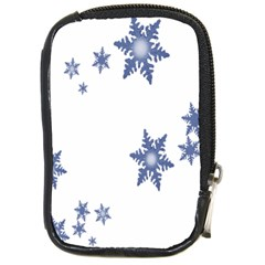 Star Snow Blue Rain Cool Compact Camera Cases by AnjaniArt