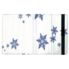 Star Snow Blue Rain Cool Apple Ipad 3/4 Flip Case by AnjaniArt