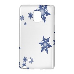 Star Snow Blue Rain Cool Galaxy Note Edge by AnjaniArt