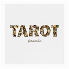 Tarot Fortune Teller Medium Glasses Cloth (2 Side) by Valentinaart