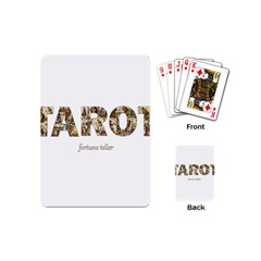 Tarot Fortune Teller Playing Cards (mini)  by Valentinaart