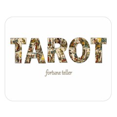 Tarot Fortune Teller Double Sided Flano Blanket (large)  by Valentinaart
