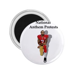 National Anthem Protest 2 25  Magnets by Valentinaart