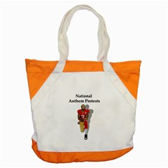 National Anthem Protest Accent Tote Bag by Valentinaart