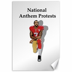 National Anthem Protest Canvas 12  X 18   by Valentinaart