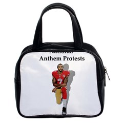 National Anthem Protest Classic Handbags (2 Sides) by Valentinaart