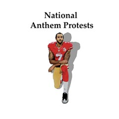 National Anthem Protest 5 5  X 8 5  Notebooks by Valentinaart