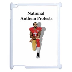 National Anthem Protest Apple Ipad 2 Case (white) by Valentinaart