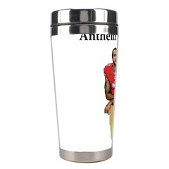 National Anthem Protest Stainless Steel Travel Tumblers by Valentinaart