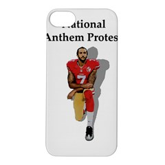 National Anthem Protest Apple Iphone 5s/ Se Hardshell Case by Valentinaart
