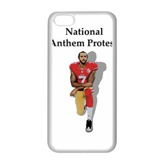 National Anthem Protest Apple Iphone 5c Seamless Case (white) by Valentinaart