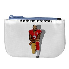National Anthem Protest Large Coin Purse by Valentinaart