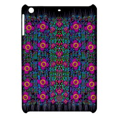 Flowers From Paradise Colors And Star Rain Apple Ipad Mini Hardshell Case by pepitasart