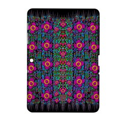 Flowers From Paradise Colors And Star Rain Samsung Galaxy Tab 2 (10 1 ) P5100 Hardshell Case  by pepitasart