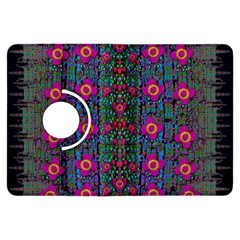 Flowers From Paradise Colors And Star Rain Kindle Fire Hdx Flip 360 Case by pepitasart