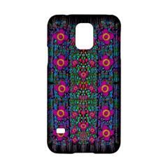 Flowers From Paradise Colors And Star Rain Samsung Galaxy S5 Hardshell Case  by pepitasart