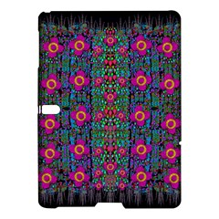 Flowers From Paradise Colors And Star Rain Samsung Galaxy Tab S (10 5 ) Hardshell Case  by pepitasart