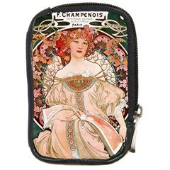 Alfons Mucha   F  Champenois Imprimeur ¨|diteur Compact Camera Cases by 8fugoso