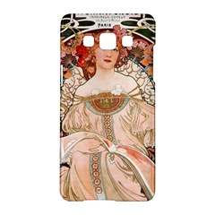 Alfons Mucha   F  Champenois Imprimeur ¨|diteur Samsung Galaxy A5 Hardshell Case  by 8fugoso