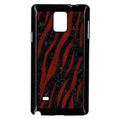 Skin3 Black Marble & Reddish Brown Wood (r) Samsung Galaxy Note 4 Case (black) by trendistuff