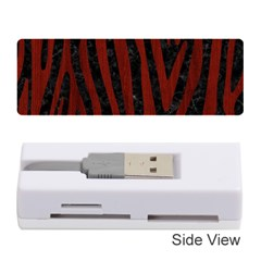 Skin4 Black Marble & Reddish Brown Wood Memory Card Reader (stick)
