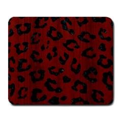 Skin5 Black Marble & Reddish Brown Wood (r) Large Mousepads by trendistuff
