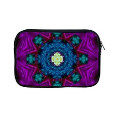 Sunshine Mandala And Fantasy Snow Floral Apple Ipad Mini Zipper Cases by pepitasart