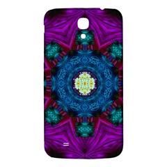 Sunshine Mandala And Fantasy Snow Floral Samsung Galaxy Mega I9200 Hardshell Back Case by pepitasart