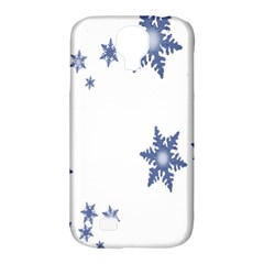 Star Snow Blue Rain Cool Samsung Galaxy S4 Classic Hardshell Case (pc+silicone) by AnjaniArt