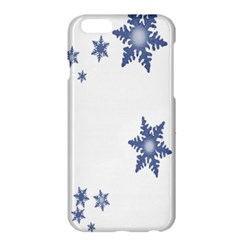 Star Snow Blue Rain Cool Apple Iphone 6 Plus/6s Plus Hardshell Case by AnjaniArt