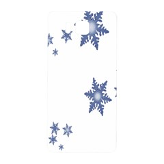 Star Snow Blue Rain Cool Samsung Galaxy Alpha Hardshell Back Case by AnjaniArt