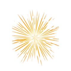 Fireworks Light Yellow Space Happy New Year 5 5  X 8 5  Notebooks by AnjaniArt