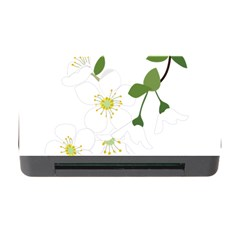 Flower Floral Sakura Memory Card Reader With Cf by AnjaniArt
