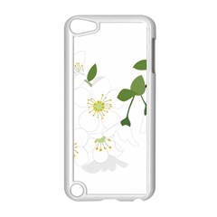 Flower Floral Sakura Apple Ipod Touch 5 Case (white) by AnjaniArt