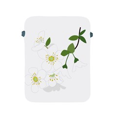Flower Floral Sakura Apple Ipad 2/3/4 Protective Soft Cases by AnjaniArt