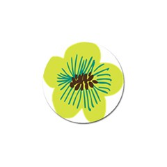 Flower Floral Green Golf Ball Marker (10 Pack) by AnjaniArt