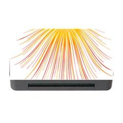 Fireworks Yellow Light Memory Card Reader With Cf by AnjaniArt
