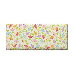 Flower Rainbow Sexy Leaf Plaid Vertical Horizon Cosmetic Storage Cases by AnjaniArt