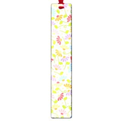 Flower Rainbow Sexy Leaf Plaid Vertical Horizon Large Book Marks by AnjaniArt