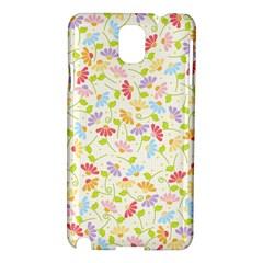 Flower Rainbow Sexy Leaf Plaid Vertical Horizon Samsung Galaxy Note 3 N9005 Hardshell Case by AnjaniArt